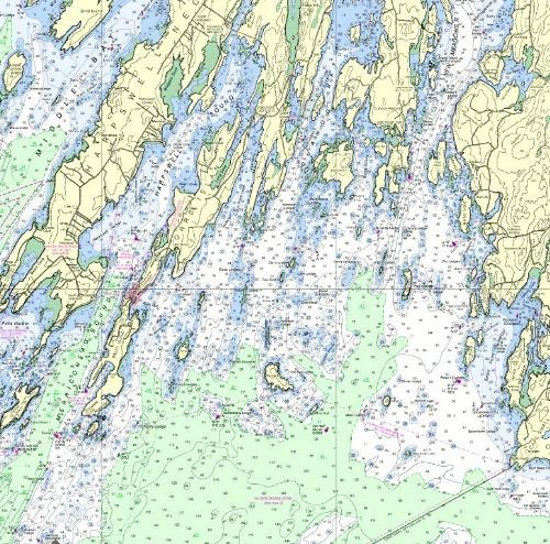 Bailey Island Maine Map