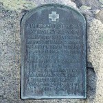 America Cross Plaque