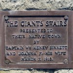 Giant Stairs Plaque