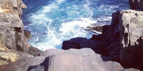 Giant Stairs Bailey Island